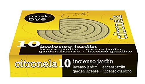 Flower 20575 20575-Recambio Incienso citronela jardín, No Aplica, 12x2.5x12 cm