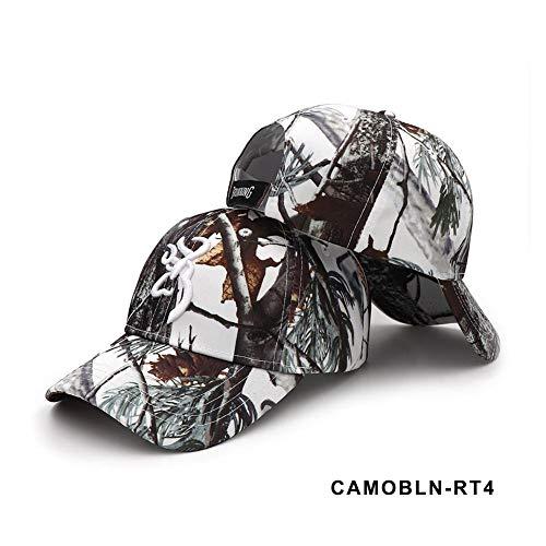 perpetualu Camouflage Cap (für Outdoor Camping Jagd Angeln Bergsteigen) Baseball Cap Jungle Hat Fishing Caps