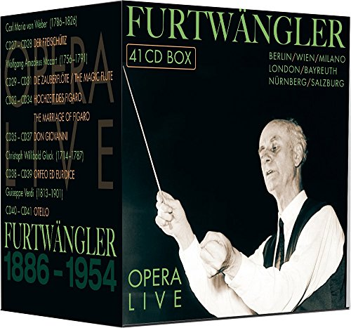 Wilhelm Furtwängler : Opera Live