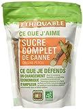 Ethiquable Sachet Sucre Complet de Canne Poudre Pérou Bio et Équitable en 500 g Paysans Producteurs