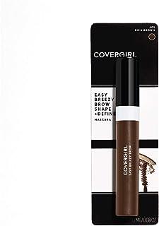 CoverGirl Easy Breezy Brow Shape & Define Eyebrow Mascara, Rich Brown, 0.3 Fluid Ounce
