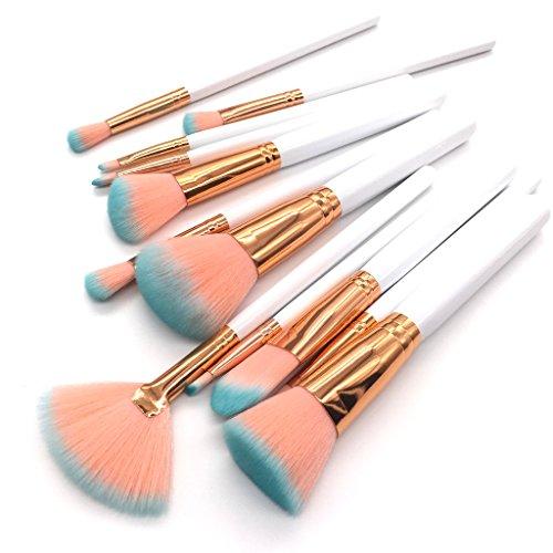 Kentop Lot de 12 pinceaux de maquillage.