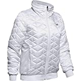 Under Armour Coldgear Reactor Performance Jacket Chaqueta, Mujer, Blanco, MD