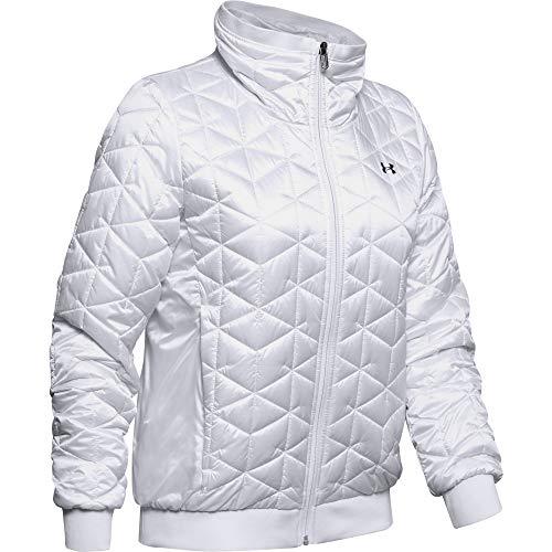 Under Armour Coldgear Reactor Performance Veste Femme Blanc FR : XL (Taille Fabricant : Taille XL)
