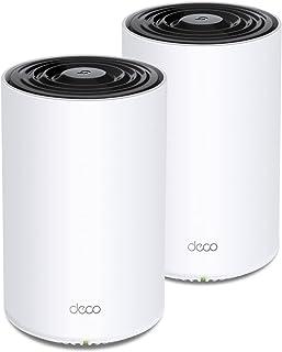 TP-Link Deco Tri Band Mesh WiFi 6 System (Deco X68) – Cubre hasta 5500 pies Cuadrados Cobertura Total del hogar, sustituye...