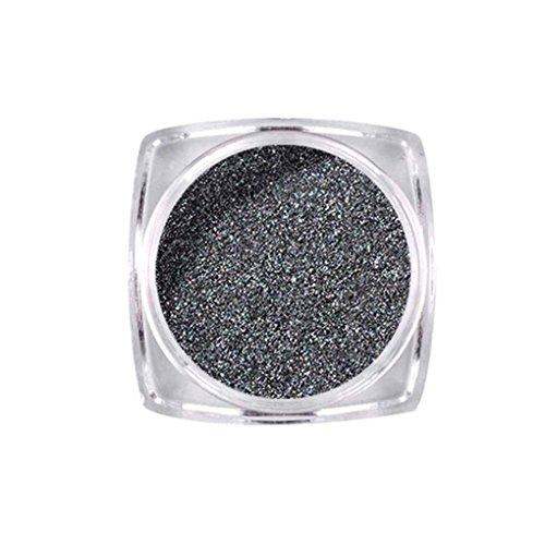 Aiming Schwarz Hell Nagel Spiegel Glitter Solid Color Nail Powder Nagelprodukte Maniküre Werkzeuge