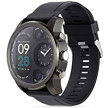 Smart Watch for Men Women Fitness Tracker with Heart Rate Monitor Blood Pressure Blood Oxygen Pedometer Tide Sports Watch with IP68 Waterproof Compatible iOS and Android