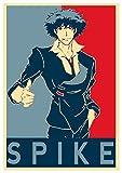 Instabuy Poster Cowboy Bebop Propaganda Spike - A3 (42x30