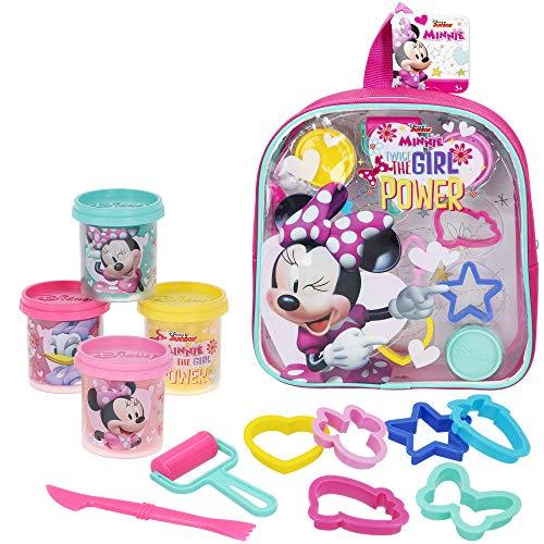 Disney - Plastilina infantil 4 Botes Plastilina Niños 3 años con moldes...