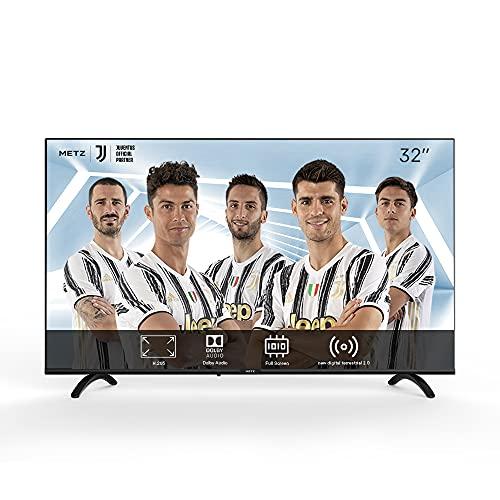METZ TV Serie MTB2000Z, LED, HD 1366x768, 32  (81 cm), HDMI, ARC, USB, Slot CI+, Dolby Digital, DVB-C T2 S2, HEVC MAIN10, nero [Efficienza energetica classe F]