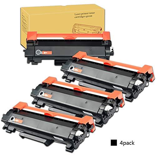 Cartucce toner TN2420 TN-2420, sostituzione per Brother MFC-L2710DW HL-L2350DW DCP-L2530DW HL-L2370DN DCP-L2510D HL-L2375DW HL-L2310D MFC-L2730DW L2550DN, questa cartuccia con chip-4-PACK