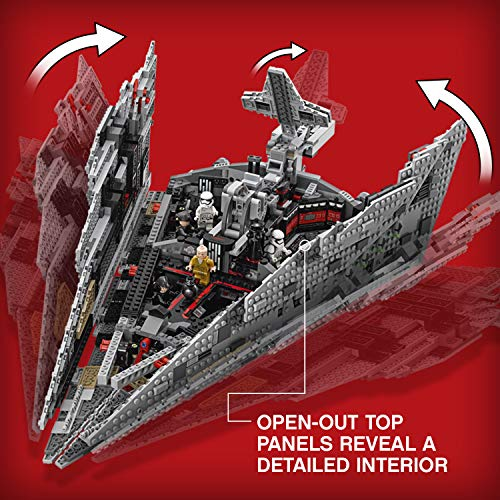 LEGO Star Wars Croiseur Premier Ordre Star Destroyer First Order 75190 - 1416 Pièces - 3