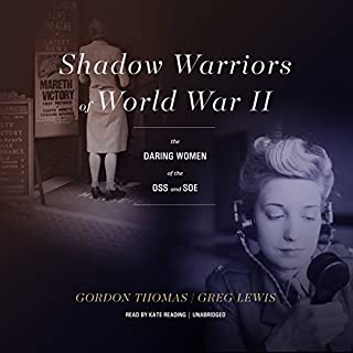 Shadow Warriors of World War II audiobook cover art
