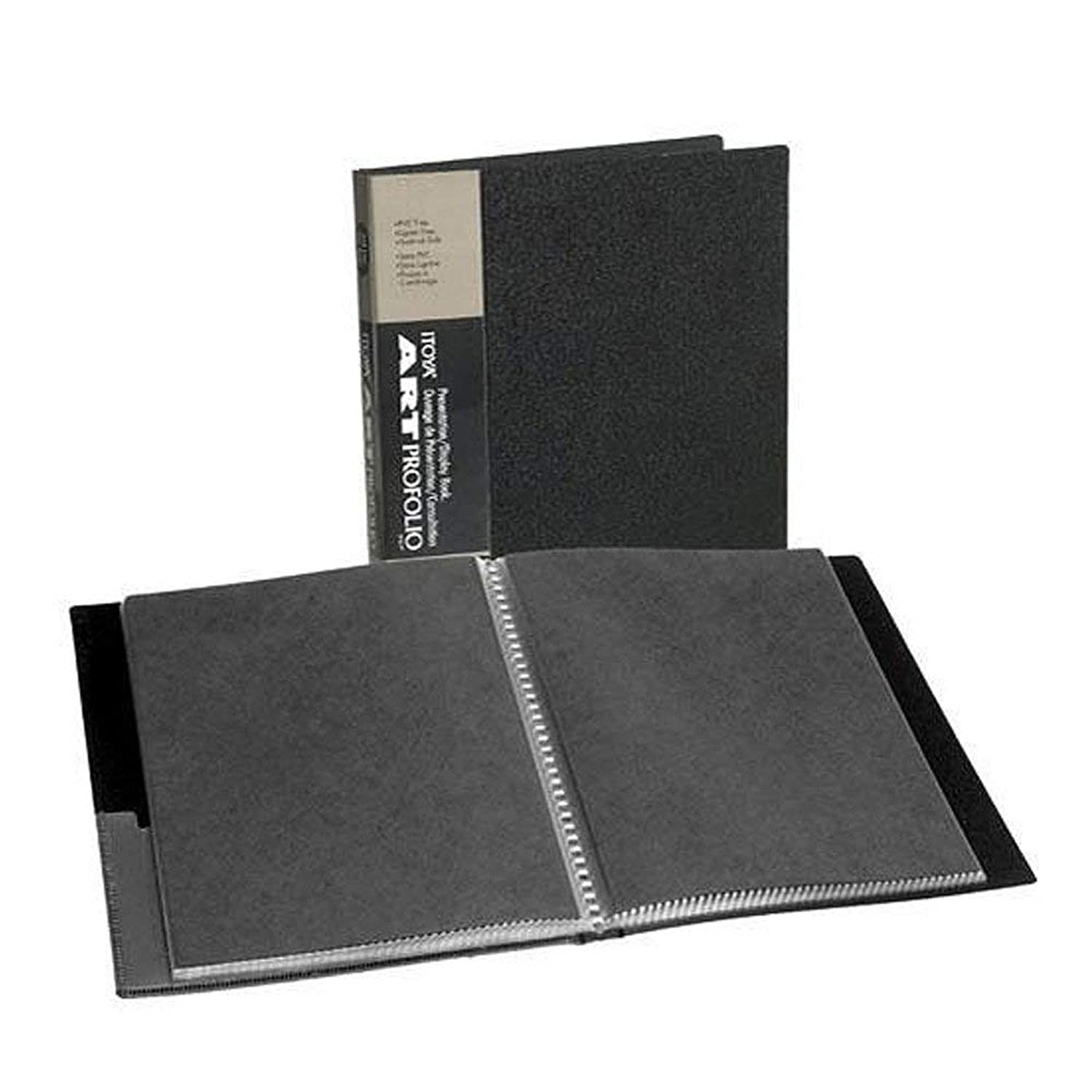 ITOYA 18 inch x 24 inch Original Art Profolio Presentation Book/Portfolio- for Art, Photography, and Documents wtayhe5255090