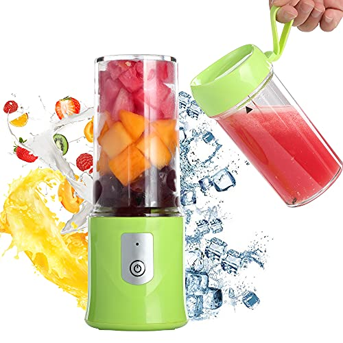 Toycol Personal Portable Blender Travel Fruit Juicer Cup with 2Pcs Cups...