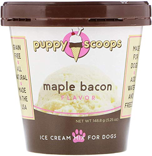 Puppy Scoops Ice Cream Mix for Dogs: Maple Bacon - Add Water...