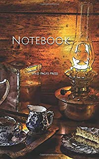 Notebook: sweets tea snacks lamp snack cake food evening biscuit tea pot