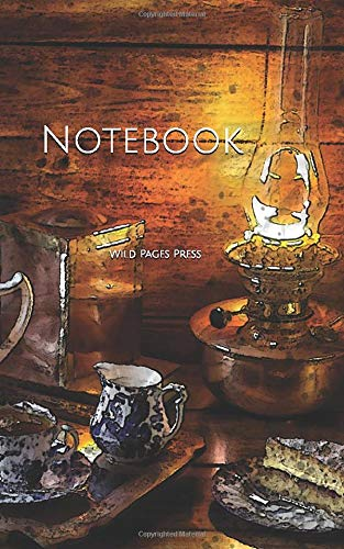 Notebook: sweets tea snacks lamp snack cake food evening biscuit tea pot