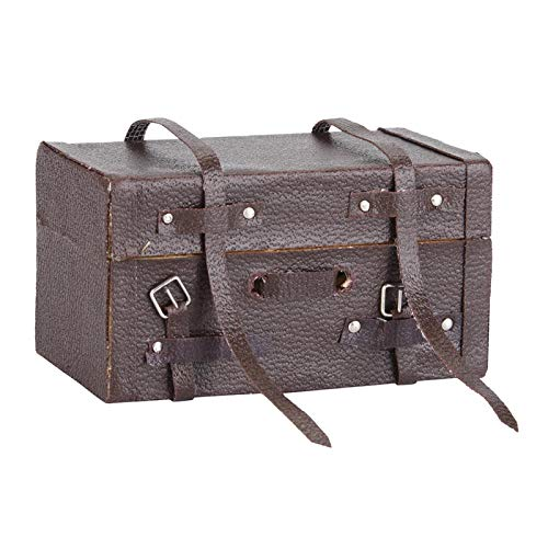 Convenient RC Luggage Box Simulation Luggage Box Authenticity Wood Decoration RC Luggage Case Attractive for 1/10 Scale RC Car
