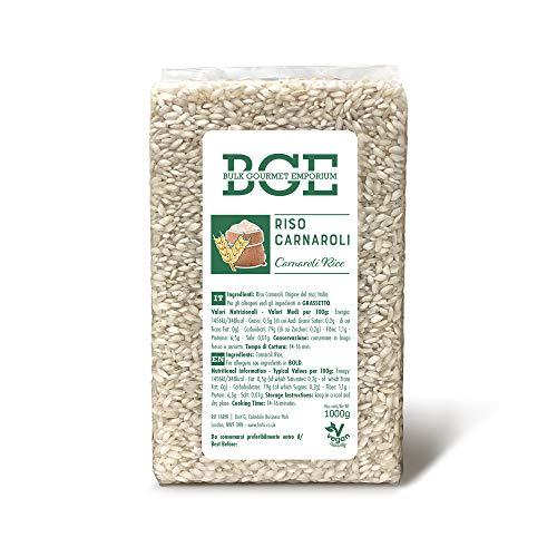 Bulk Gourmet Emporium - Arroz Carnaroli, 3 x 1000 g (3 kg en total)