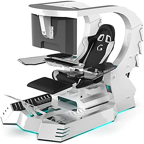 Computer Cockpit Anchor e-Sports Space Capsule Fat House Happy Chair Internet Cafe Game Office All-in-one Computer Chair A