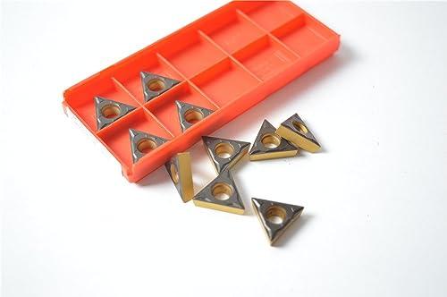 lowest 10PCS TCMT 32.51-PF 4315 / TCMT 16T304-PF 4315 Milling online Carbide Cutting Inserts For online sale CNC Lathe Turing Tool Holder Boring Bar outlet online sale