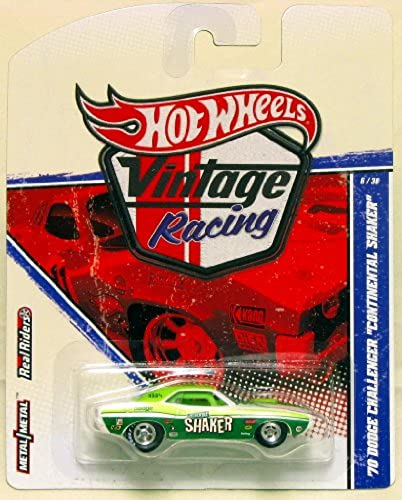 Hot wheels Vintage Racing 1970 Dodge Challenger Continental Shaker by Hot Wheels