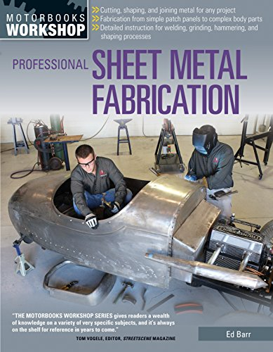 Compare Textbook Prices for Professional Sheet Metal Fabrication Motorbooks Workshop Illustrated Edition ISBN 0752748344921 by Barr, Ed