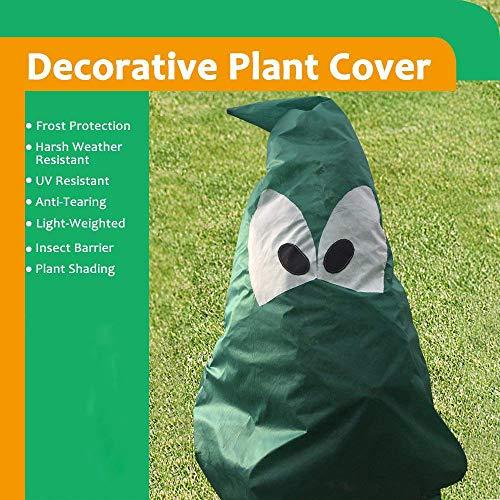 Winterschutz für Pflanzen gegen Frostschutz raue Wetterbeständigkeit Keimung von Samen 240 * 210 50g