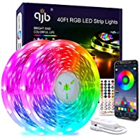 40-Ft Color Changing Smart LED Fairy String Lights with Music Sync