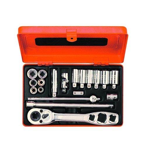 Bahco R6725ZK BHR6725ZK Werkzeugsatz für Kältetechnik 1/4 Zoll 19-teilig