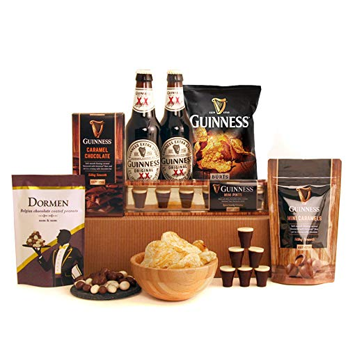 Guinness Gift Box - The Guinness Lover Sweet Treats Gift Box - Ideal Gift for Fathers Day - Available for Next Day Delivery at The Checkout