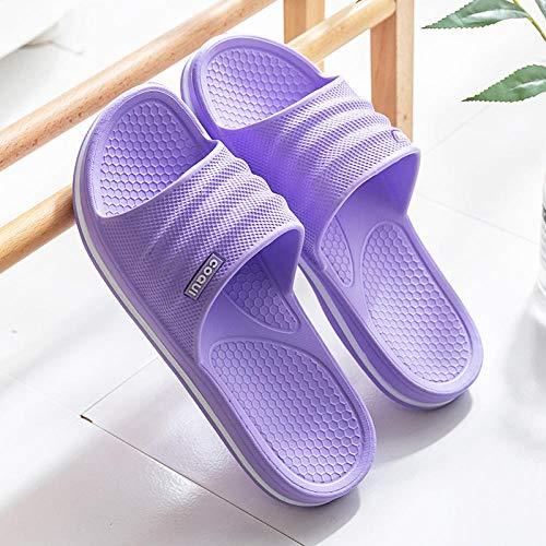 Coral Vaughan Sandalias y pantuflas femeninas de verano, luz interior, suelo suave, antideslizantes, zapatos de baño masculinos - 37-38_3