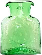 Blenko Mini Glass Water Bottle, Spring Green (384M-36)