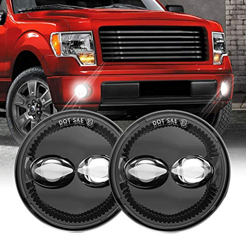 Z-OFFROAD Upgrade 4-1/2 Inch LED Fog Lights Lamps Compatible With 2006 2007 2008...