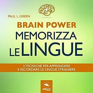 Brain Power. Memorizza le lingue copertina