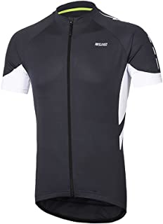 ARSUXEO Men's Short Sleeves Cycling Jersey Bicycle MTB Bike Shirt 636