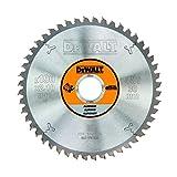 Dewalt DT1912-QZ Metall-Kreissaegeblatt 190/30 48TFZ -5°, für Aluminium
