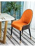 BEVANNJJ ZYY Nórdico Post-Moderno Luz Italiana Silla de Comedor de Lujo Simple Moderno diseñador Showroom Cafe Modelo Mesa de Comedor y sillas (Color : Boom Clap 1)