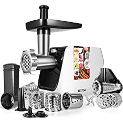 Electric meat grinder stainless steel