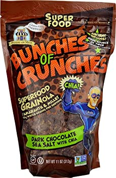 Bakery On Main Bunches of Crunches Gluten Free Superfood Grainola Dark Chocolate Sea Salt with Chia -- 11 oz - 2 pc