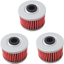 Poweka KN113 Powersports High Performance Oil Filter for Honda TRX350 TRX400 EX CB400 ATC250ES TRX500 Replace HF113