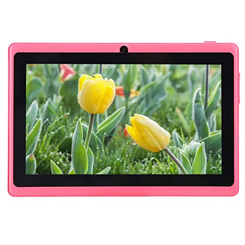 Tabletas para NiñOs de 7 Pulgadas - Tableta para NiñOs con Control Parental, Tableta WiFi con Android Quad Core, 1 GB de Ram + 8 GB de Rom Soporte para Tarjeta De 32GB (02)