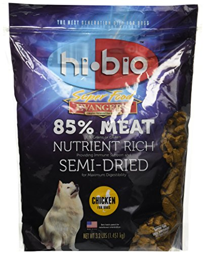 Evangers Hi Bio Chicken Superfood (Semi-moist) for...