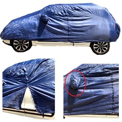 COMPATIBILE Con Alfa Romeo Giulia 2.2 TD 210 CV AT8 AWD Q4 Veloce Housse DE Voiture IMPERMÉABLE Toile en Nylon BÂCHE Taille L 482X196X120CM Couverture Anti-Rayures Universelle
