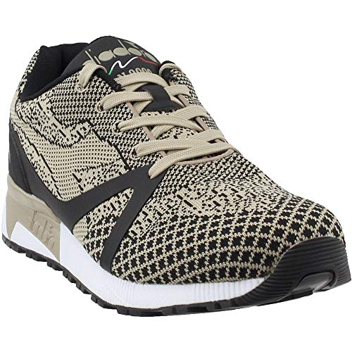 Diadora Mens N9000 MM EVO Running Casual Sneakers, Beige, 10.5