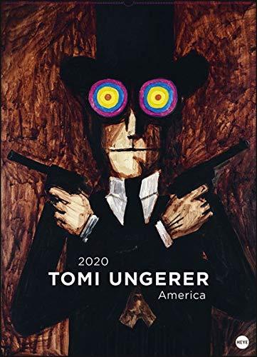Tomi Ungerer Edition: America. Wandkalender 2020. Monatskalendarium. Spiralbindung. Format 49 x 68 cm - Partnerlink