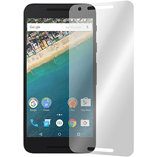 PhoneNatic 6 x Pellicola Protettiva Antiriflesso Compatibile con Google Nexus 5X Pellicole Protettive