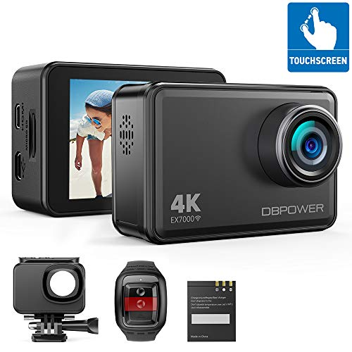 DBPOWER EX7000 Sports Action Camera 4K, 14MP...