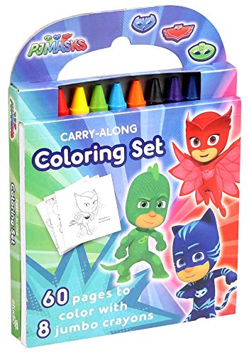 PJ Masks: Carry-Along Coloring Set